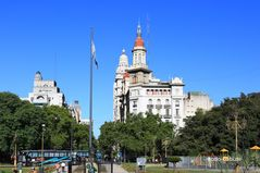 Plaza del Congreso mit Palacio Barolo