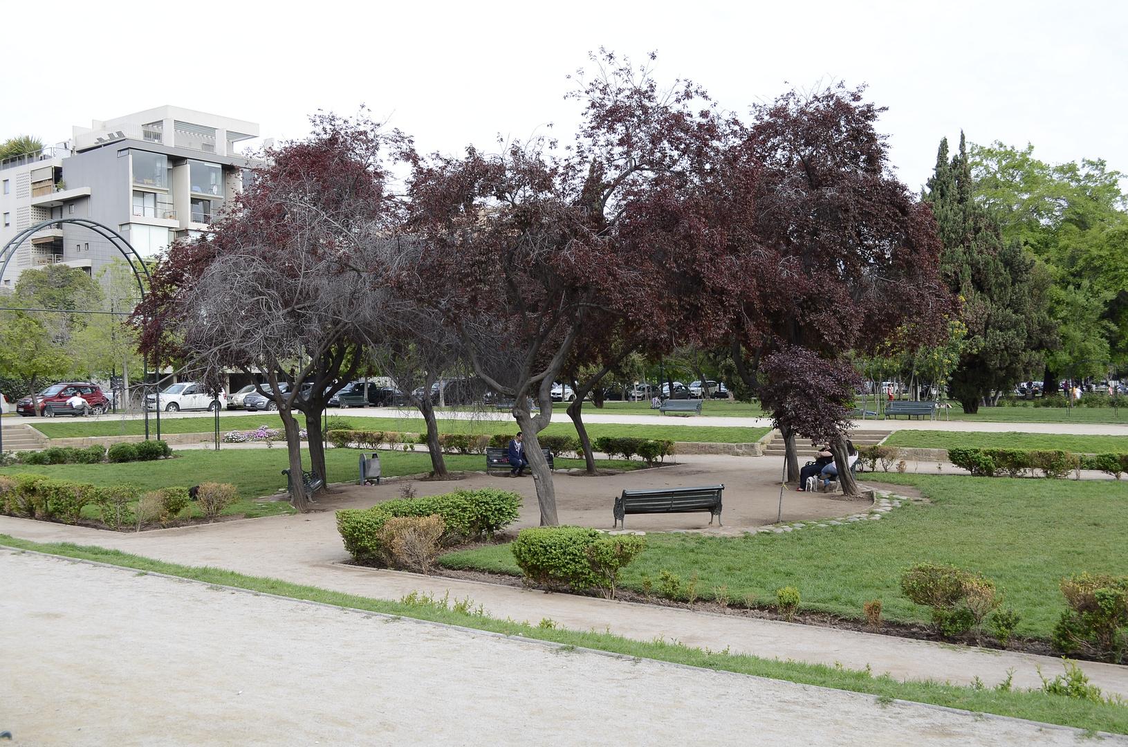 Plaza Las Lilas en Providencia - Santiago