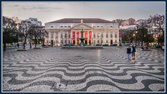 Plaza Rossio Lissabon