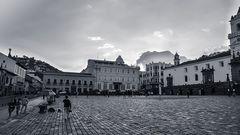 Plaza San Francisco Quito-Ecuador