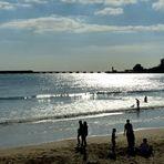 Plein soleil sur la plage des SABLES d'Olonne