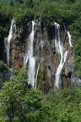 Plitvicer Seen -  Veliki Slap (großer Wasserfall)