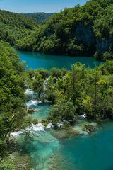 Plitvicer Seen - Wasserfälle zwischen den Seen