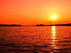 Plöner See am Abend