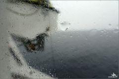 Pluie en mer