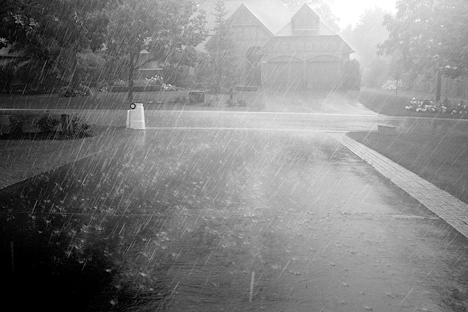 Plymouth, Regenschauer, SW