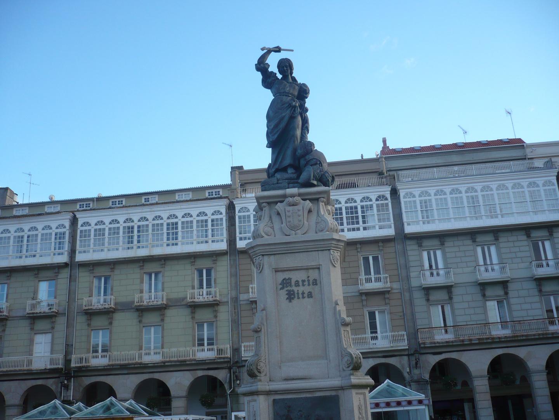 Plza de María Pita (A Coruña - Galiza)