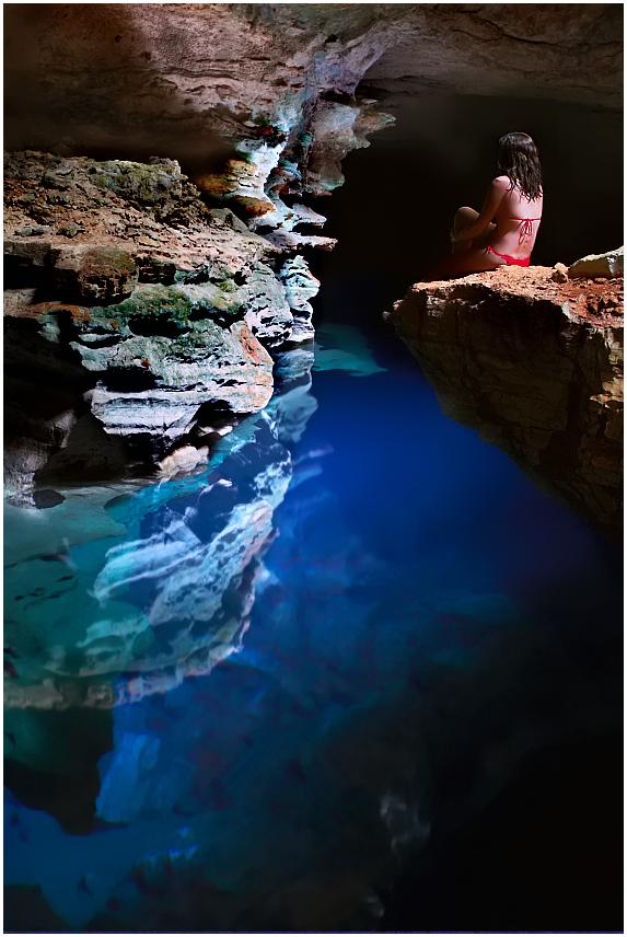 Poco Azul, Chapada Diamantina
