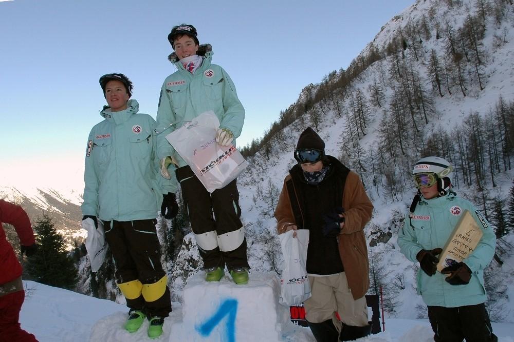 Podio Juniori 11.01.2009