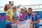 podium Roxy Jam 08'