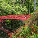 Poet´s Bridge im Pukekura Park, New Plymouth, Neuseeland