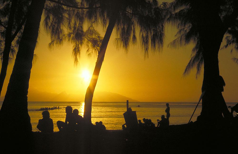 Point Venus Sunset