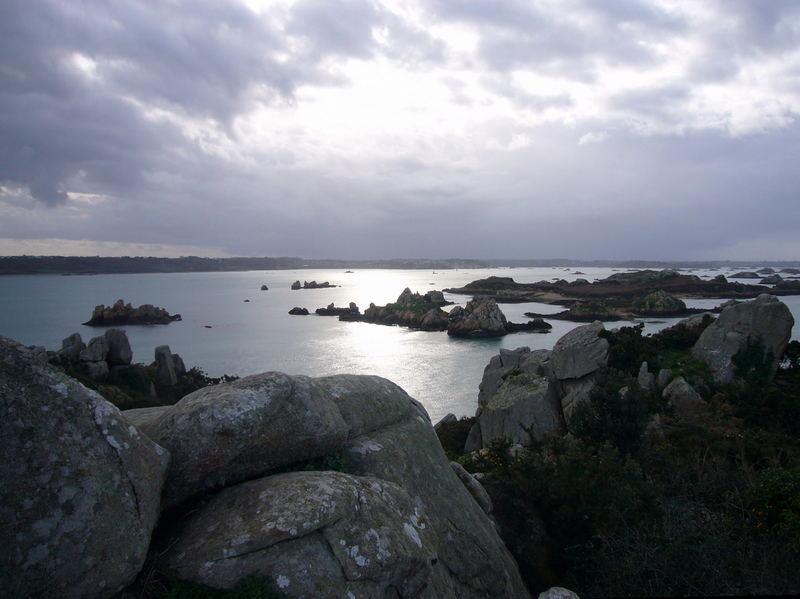 pointe sud de l'ile de brehat