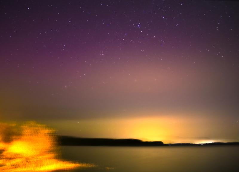 Polarlicht am Einfelder See