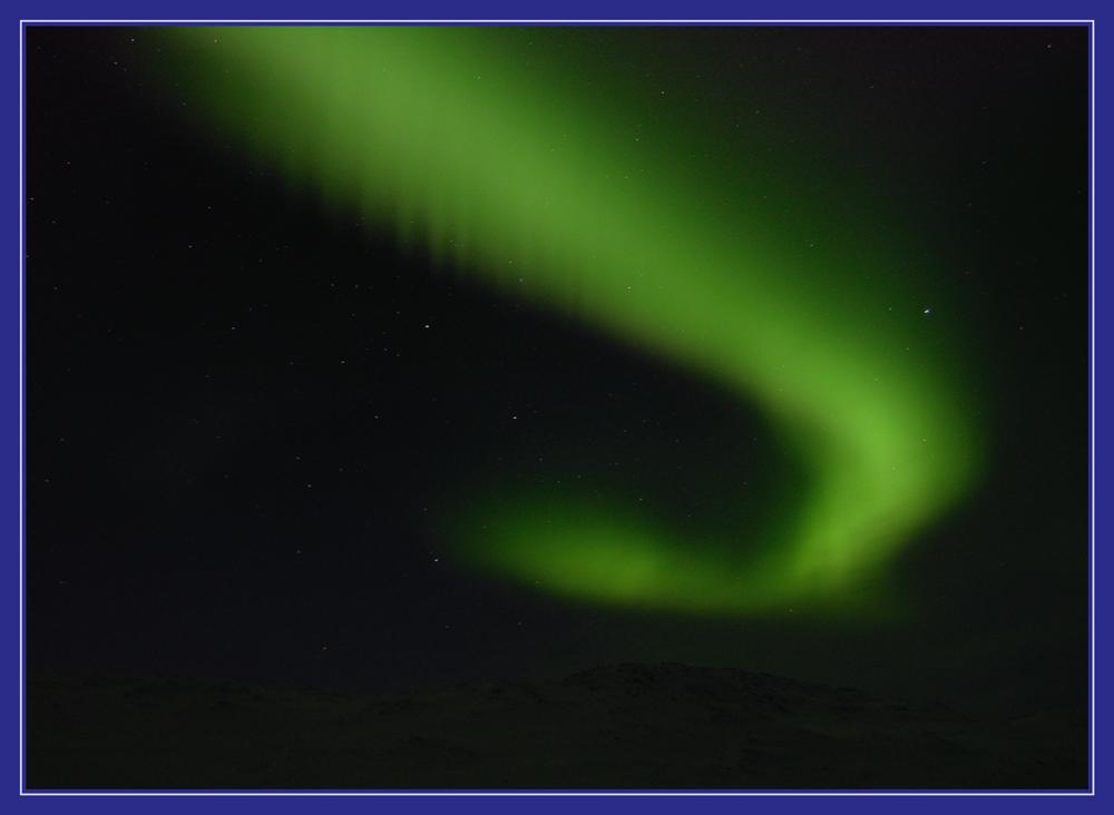 Polarlicht bei Cunojavri 3