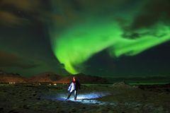 Polarlicht Lofoten Februar 2014