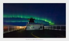 Polarlicht über der Polarlys