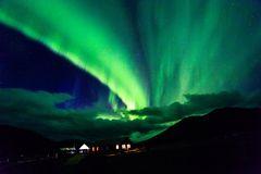 Polarlichter am Blahnukur