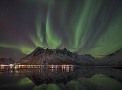 Polarlichter auf den Lofoten 1/2 (inkl. Youtube-Zeitraffer)