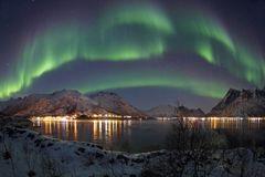 Polarlichter auf den Lofoten 2/2 (inkl. Youtube-Zeitraffer)