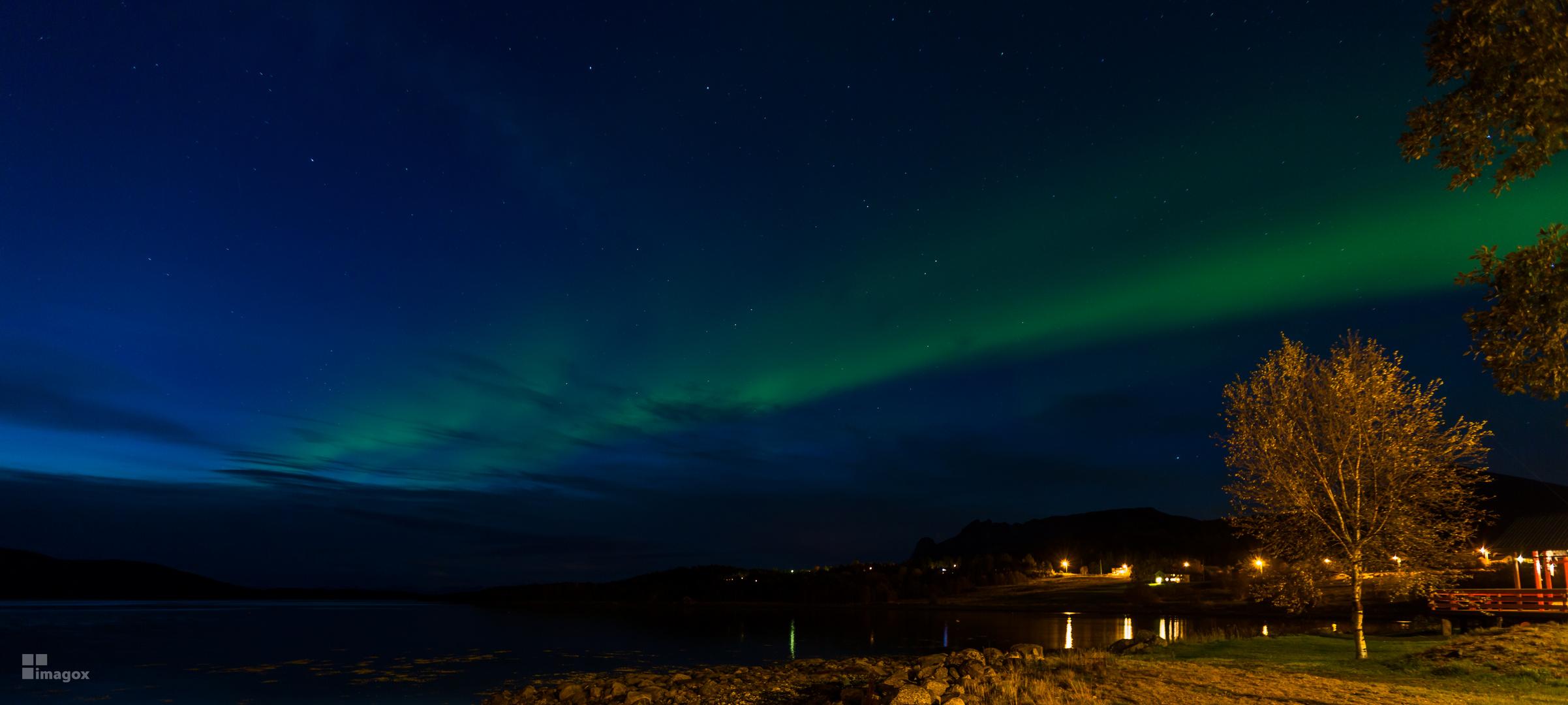 Polarlichter in Nord Norwegen