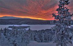 Lappland Polarnacht