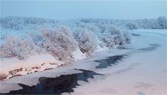 Polarnacht in Peltovuoma