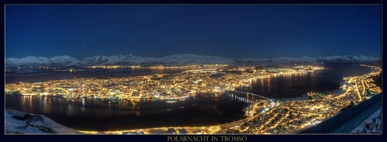 Polarnacht in Tromsö