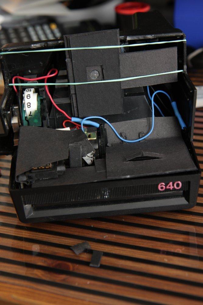 Polaroid 640 Lochkamera