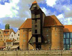 Polen hat es wieder aufgebaut, in Gdansk,..