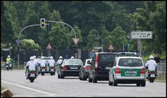Police Motorcade Berlin