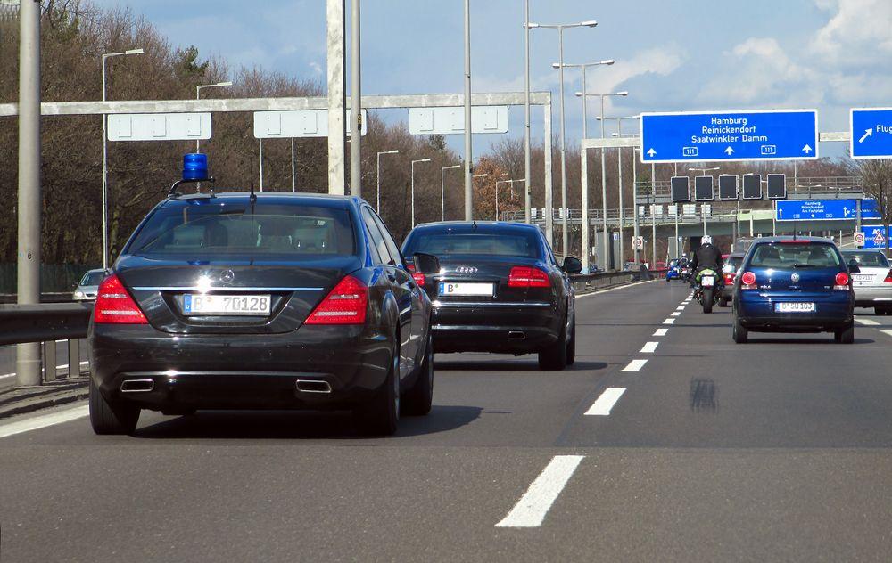 Police S-Klasse Polizei