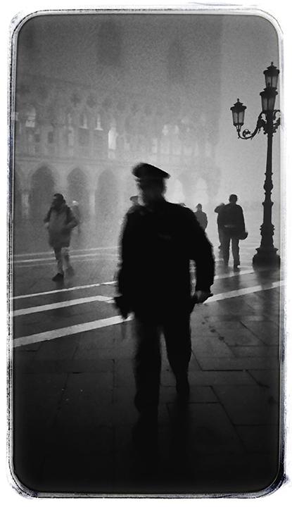 Policeman at Saint Mark's #2