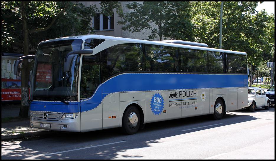 Polizei Bus BaWü 1