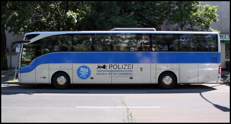 Polizei Bus BaWü 3