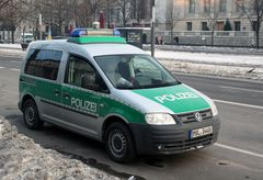 Polizei Caddy