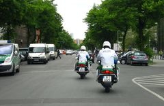 Polizei Eskorte x1