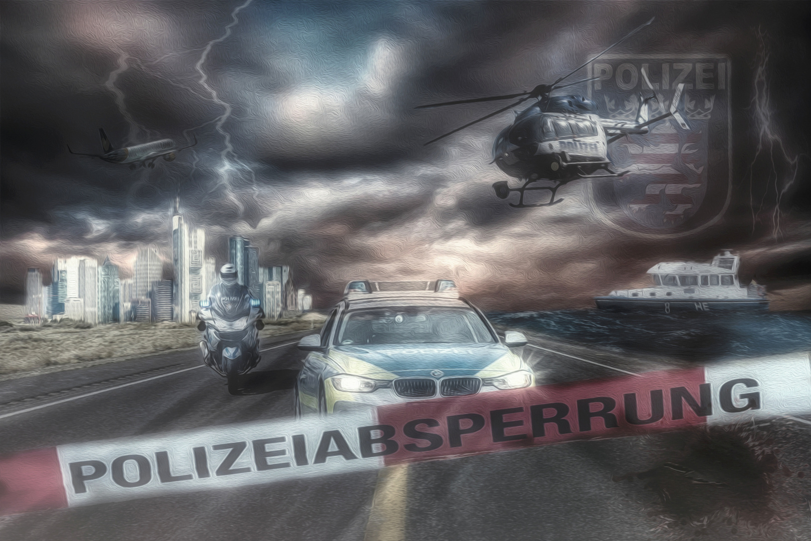 POLIZEI HESSEN/FRANKFURT
