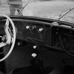 Polizei Käfer - die Technik im Fahrzeug