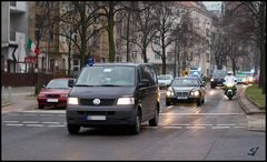 Polizei Kolonne