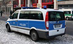 Polizei Mercedes.