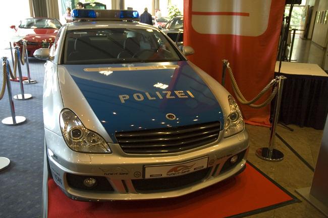 Polizei mit 735 PS - da entkommt keiner