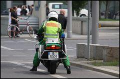 Polizei Motorrad