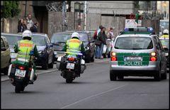 POLIZEI Motorräder