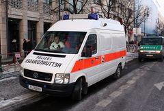 Polizei RTW.