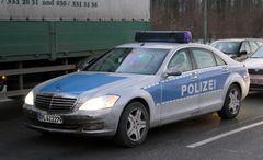 Polizei S-Klasse