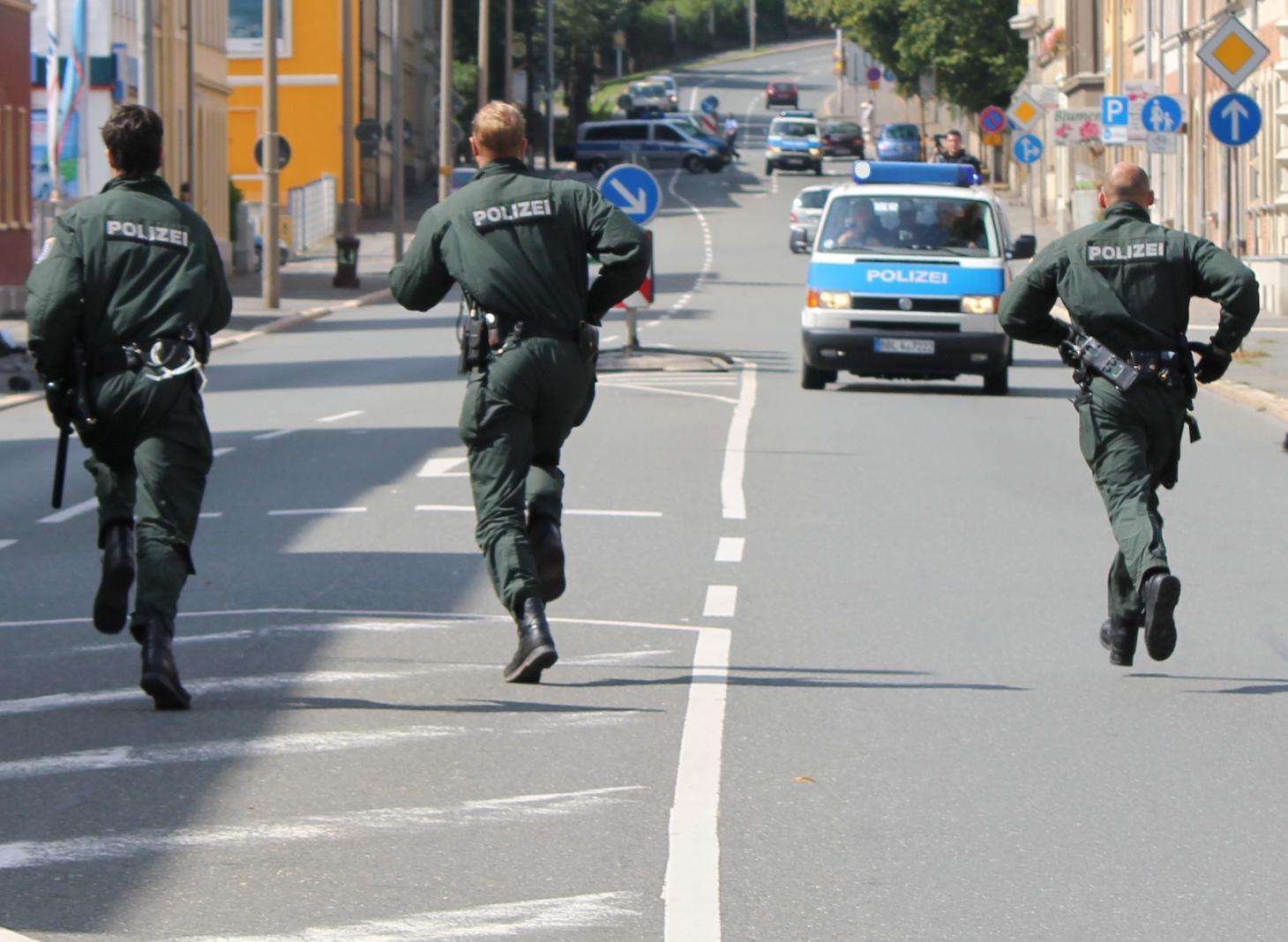 Polizeibewegung
