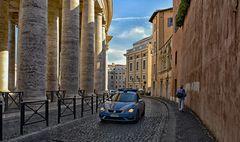 polizia al vaticano
