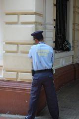 Polizist in Catagena