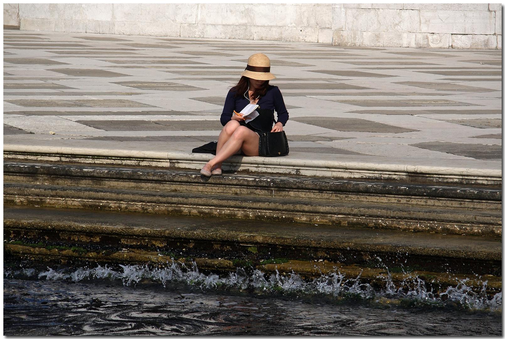 Pomeriggio in San Giorgio Maggiore